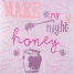 Calida Pyjama 3/4 Honey Nights